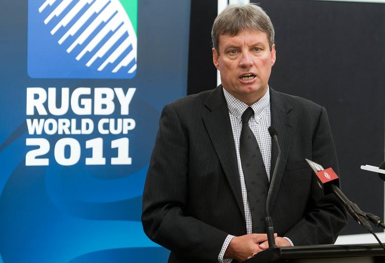 Chief executive officer of the 2011 Rugby World Cup Martin Snedden (Marty Melville/AFP/Getty Images)
