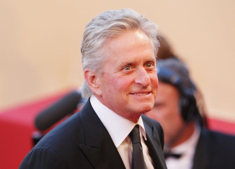Actor Michael Douglas is being honored by the Film Society of Lincoln Center with the annual Chaplin Award.  (Dave Hogan/Getty Images )