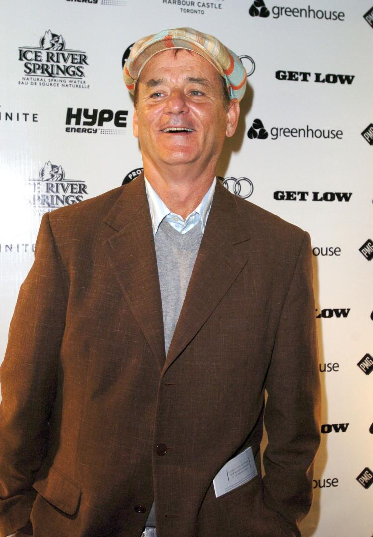 Actor Bill Murray attends the 'Get Low' premiere after a party during the Toronto International Film Festival. (Teresa Barbieri/Getty Images )