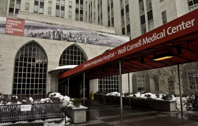 TOP NOTCH: New York Presbyterian Hospital, including the Weill Cornell Medical Center on East 68th Street and Columbia University Medical Center on West 168th Street, was listed among the top 5 percent of hospitals in the nation, according to a Health Grades report. (Phoebe Zheng/Thew )