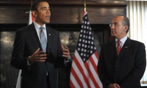 Obama Discusses Border Issues With Mexico President