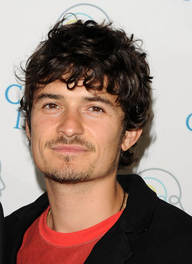 Orlando Bloom was given an honorary degree from the University of Kent this past weekend. (Stephen Lovekin/Getty Images)