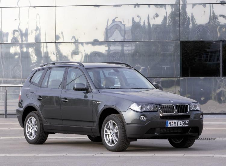 2008 BMW X3 (Courtesy of BMW media department)