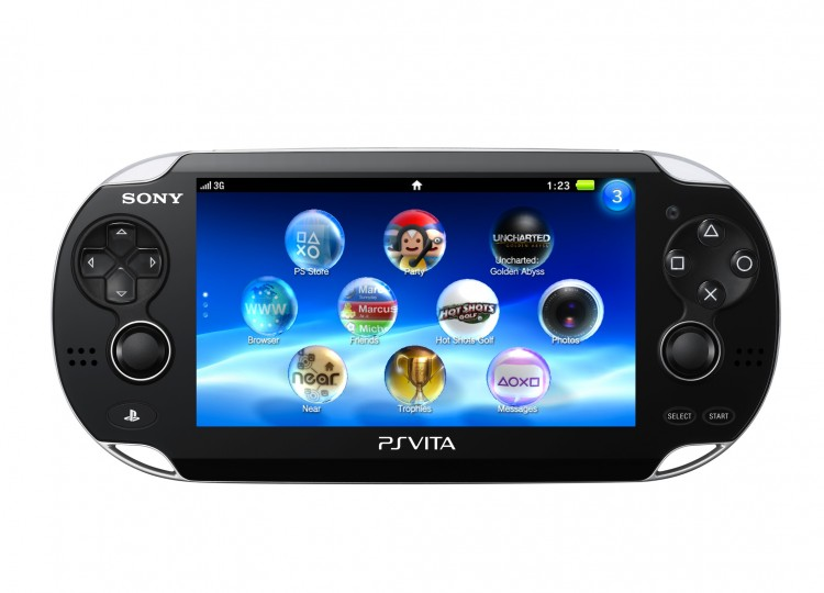 NEXT GENERATION: The Sony PlayStation Vita to be released in the West in early 2012 is based on high-end tablet technology and has more total system memory than the PlayStation 3.  (Sony Computer Entertainment Inc.)