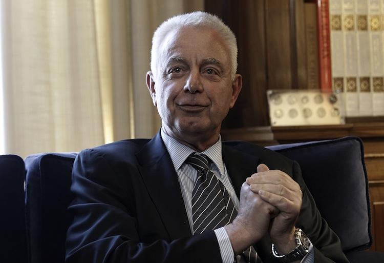 Panagiotis Pikrammenos, a senior judge, is named caretaker Prime Minister on May 16, to lead Greece until fresh election on July 17. (John Kolesidis/AFP/GettyImages)