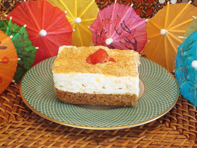 TROPICAL TASTE: A light, refreshing dessert great for any time of year. (Sandra Shields/The Epoch Times)