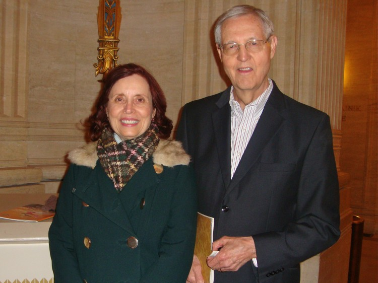 Robert Chatterton and his wife, Carol, attend Shen Yun