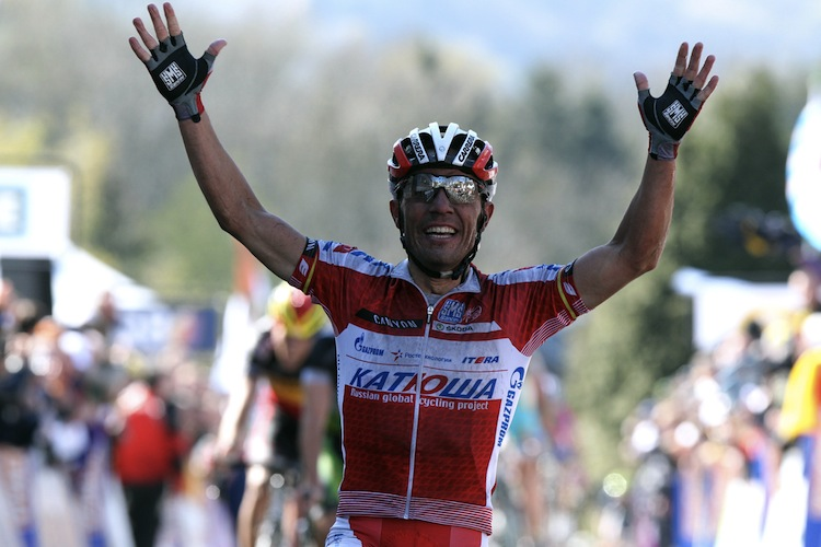 Spanish Joaquim Rodriguez of Team Katush