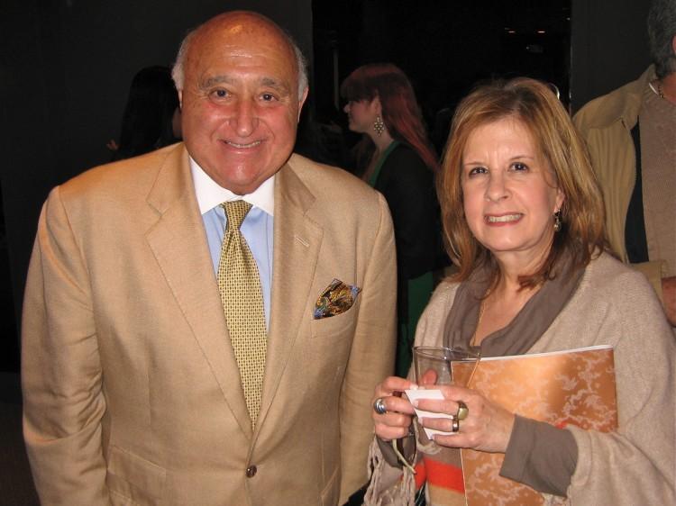 Ronald Sylvestri and Virginia Garcia attend Shen Yun