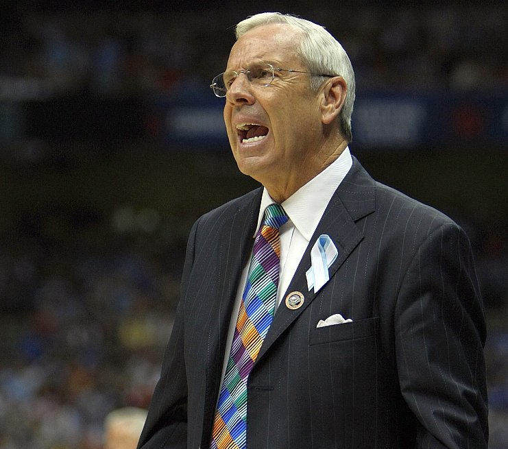 With another top-seed billing for Roy Williams's club in 2012