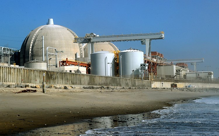The San Onofre Nuclear Power Plant