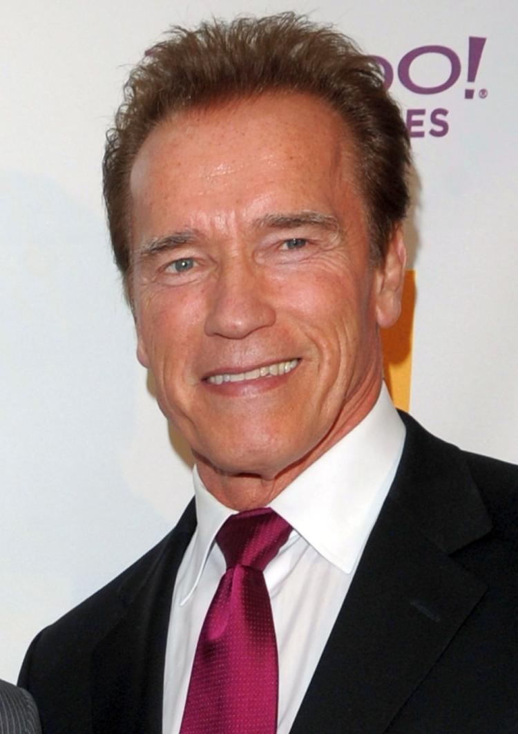 Former California Gov. Arnold Schwarzenegger poses during the 14th annual Hollywood Awards Gala at The Beverly Hilton Hotel on Oct. 25, 2010. Having completed his term in office on Jan. 3, Schwarzenegger is set to embark on a series of public speaking engagements in Canada. (Jason Merritt/Getty Images)
