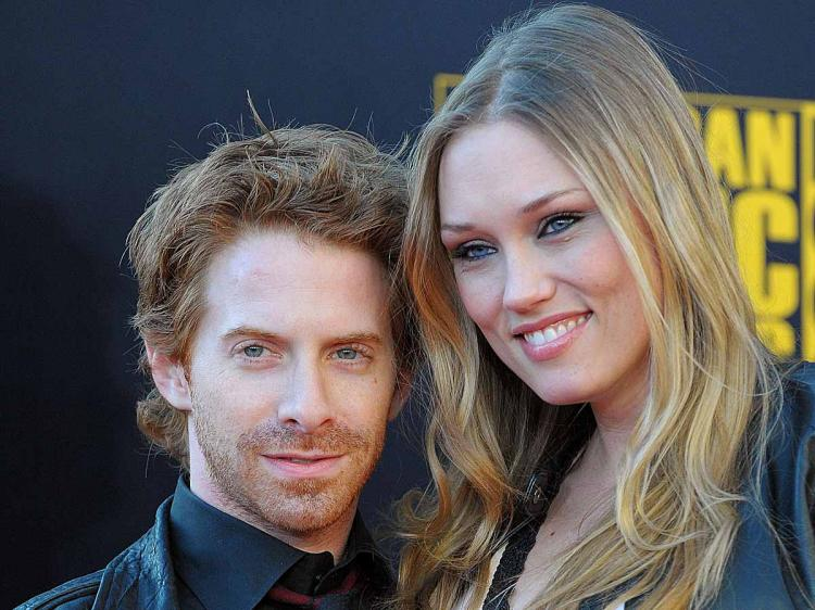 Seth Green and Clare Grant. (Jason Merritt/Getty Images)