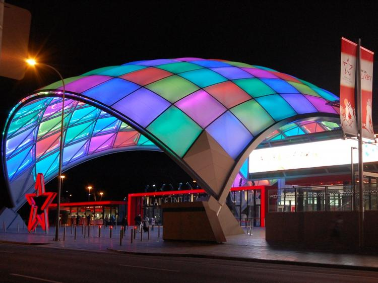 Adelaide Entertainment Centre. (Shar Adams/The Epoch Times)