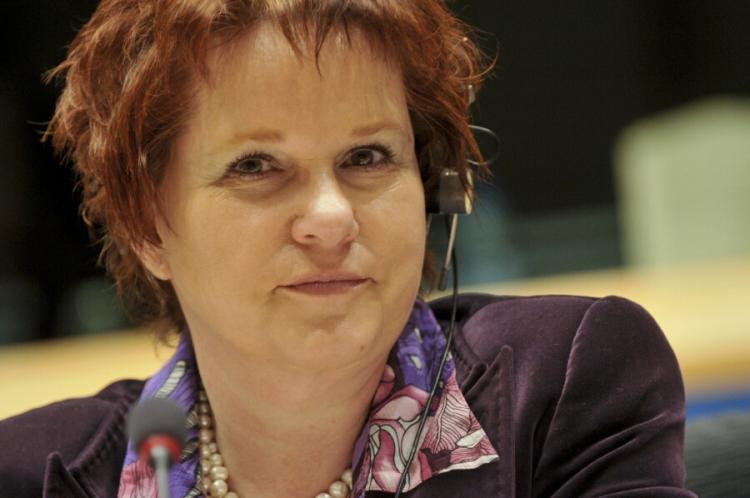 Ms Sharon Bowles, MEP for South East England Chair of the Economic and Monetary Affairs Committee  (Photo European Parliament)