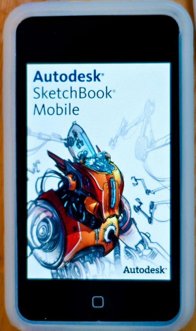 Autodesk SketchBook Mobile App for iPhone and iPod Touch