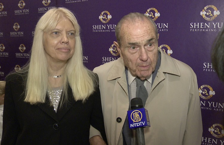 Dr. Stanley Cohen, president of Five Towns College and Dr. Patricia Schmidt,
