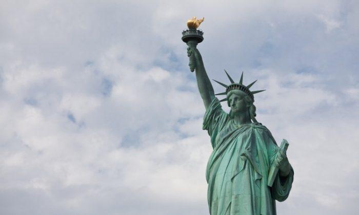 The Statue of Liberty on Jan. 17, 2013. (Samira Bouaou/The Epoch Times)