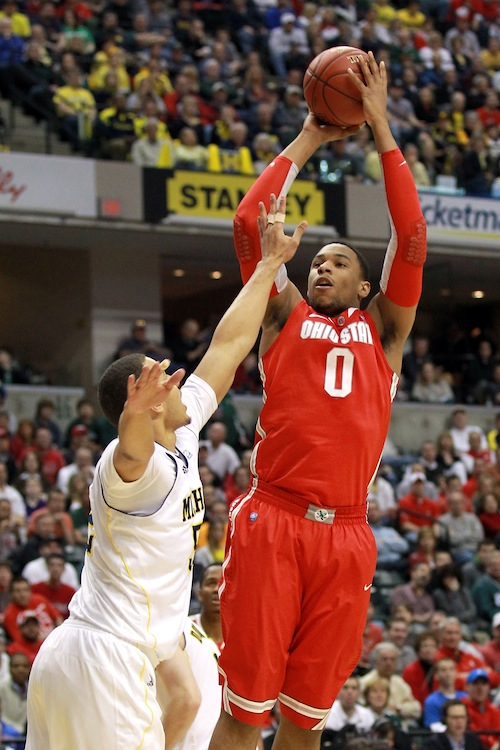 Big Ten Basketball Tournament - Ohio State v Michigan