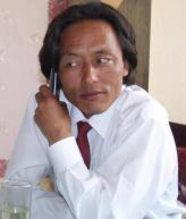Kunchok Tsephel, an official in a Chinese government environmental department and founder of the influential Tibetan literary website. (Courtesy of International Campaign for Tibet)
