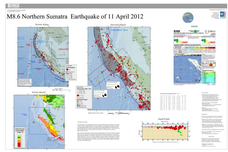 An overview of the 8.6-magnitude earthquake