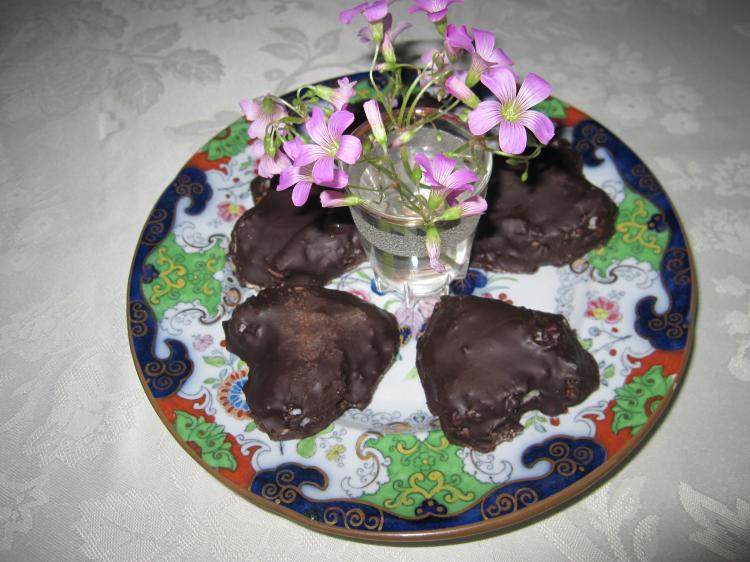 TREATS: Homemade coconut-patty hearts make a delicious St. Valentine's Day present. (Louise McCoy/The Epoch Times)