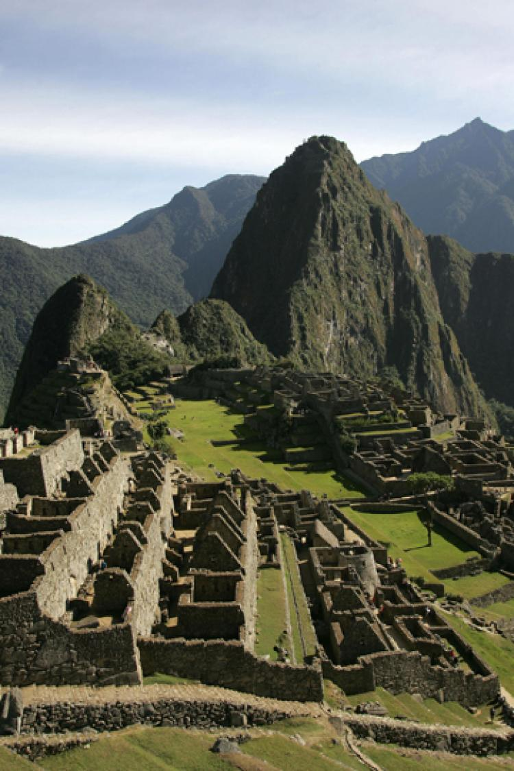 The purpose of Machu Picchu, the possible Incan citadel situated in modern Peru, might  never be fully explained.  (Eitan Abramovich/AFP/Getty Images)