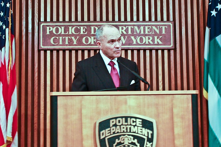 Police Commissioner Raymond Kelly
