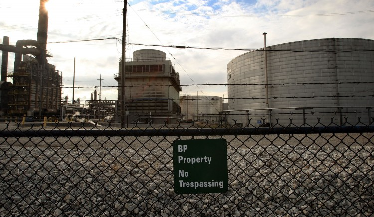 The BP refinery in Whiting, Ind.