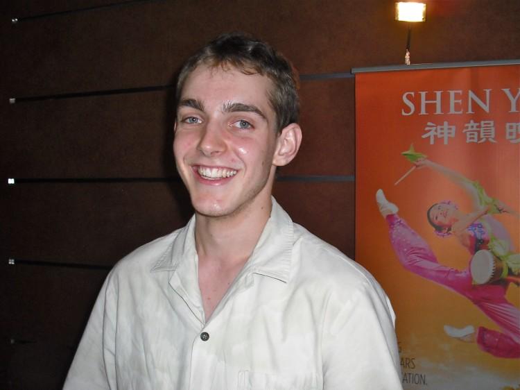 Alexei Bernard shares his Shen Yun Performing Arts' experience