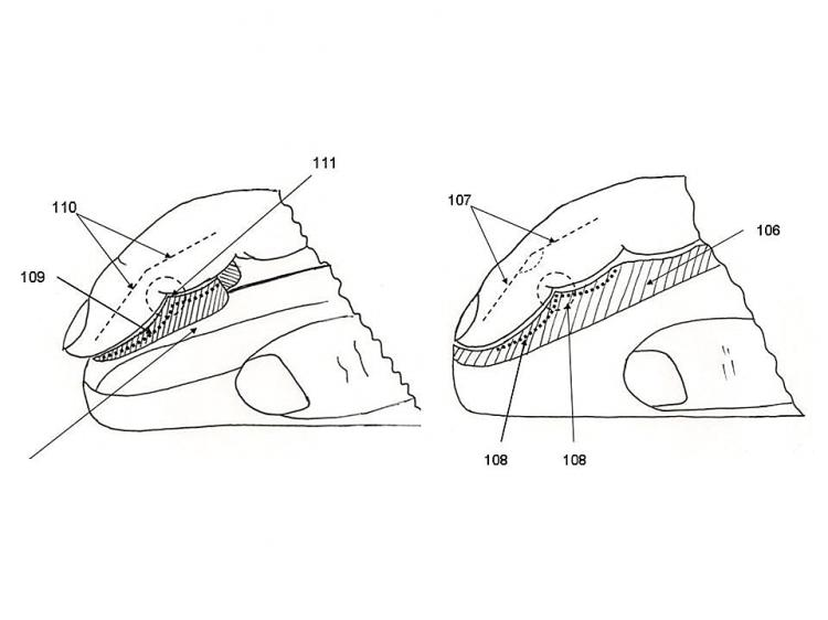 COMFORT: An illustration of the design of the Pad'N'Click mouse accessory. (Courtesy of Jacob Innovations)