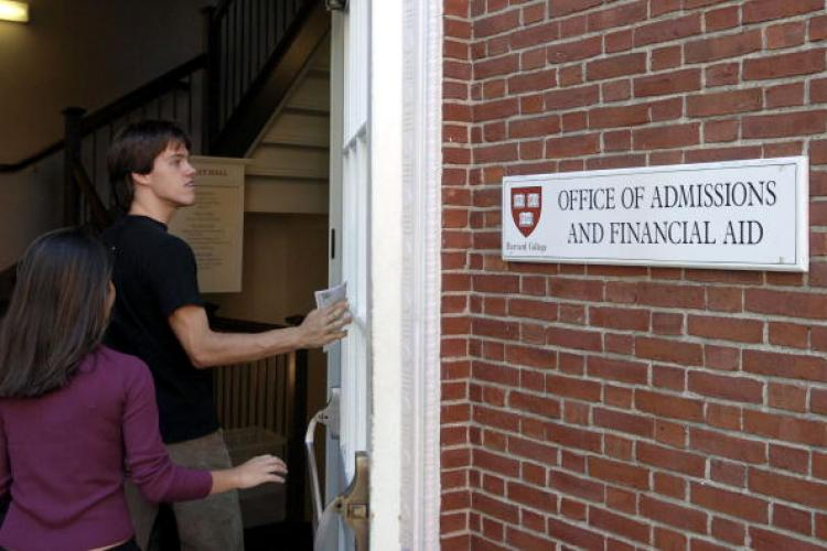 Adam Wheeler Fraud Case: Wheeler pleads not guilty to falsifying his records. In this 2006 photo, the Admissions Building at Harvard University is pictured. (Glen Cooper/Getty Images)