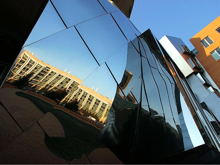 The Ray and Maria Stata Center on the campus of the Massachusetts Institute of Technology (Joe Raedle/Getty Images)