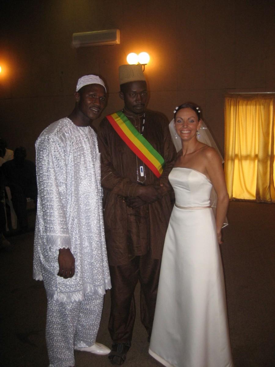 Lainie Towell and Fodé Mohamed Soumah