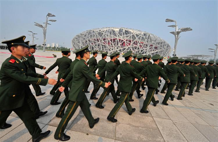 Since China was granted the right to host the 2008 Olympic Games, human rights have progressively deteriorated. (Teh Eng Koon/AFP/Getty Images)