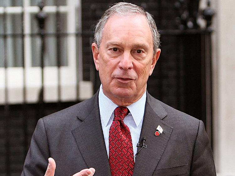 Former New York Mayor Michael Bloomberg in a file photo. (Leon Neal/AFP/Getty Images)