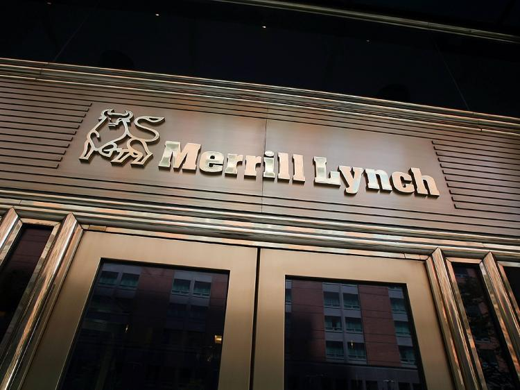 Banks like Merrill Lynch and Citibank might benefit from the new FASB rules.  (Mario Tama/Getty Images)