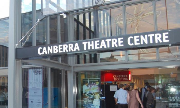 Canberra Theatre the venue for Shen Yun Performing Arts, in Canberra. (Shar Adams/The Epoch Times)