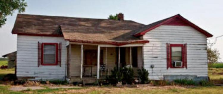 Johnny Cash had lived in this home in Dyess, Ark. for about two decades since the 1930s. The Arkansas State University is planning to turn the home into a museum. (Courtesy of Arkansas State University)