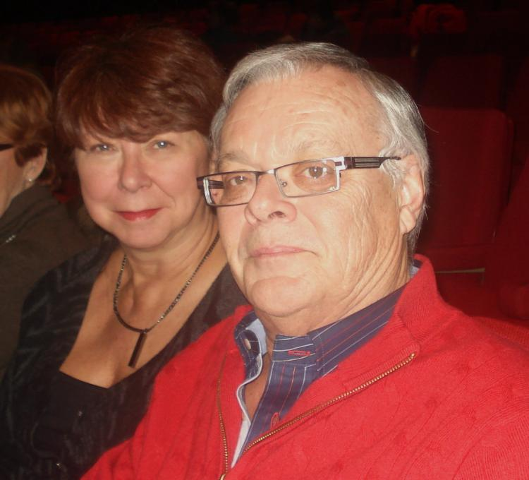 Mr. and Mrs. Tessier were impressed by the Shen Yun show at Place des Arts on Sunday afternoon. (The Epoch Times)