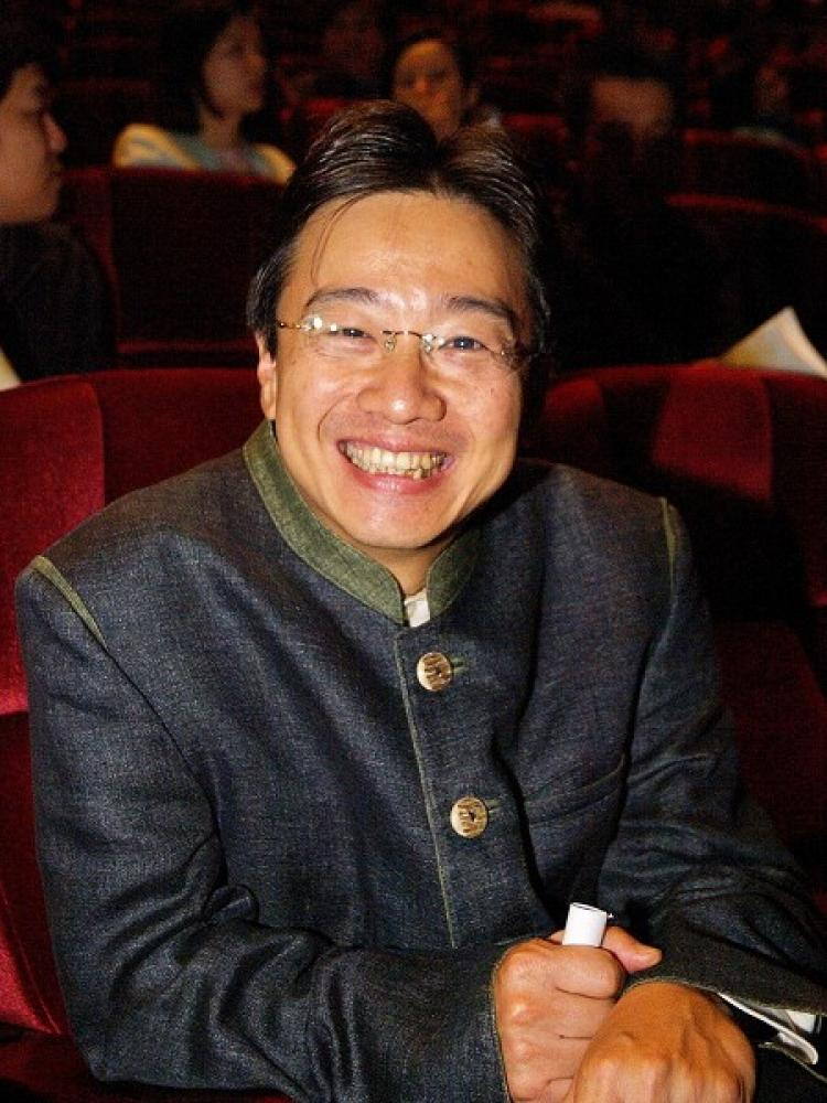 Chang Chengjie, a renowned cellist, attended the DPA show.  (Tang Bin/The Epoch Times)