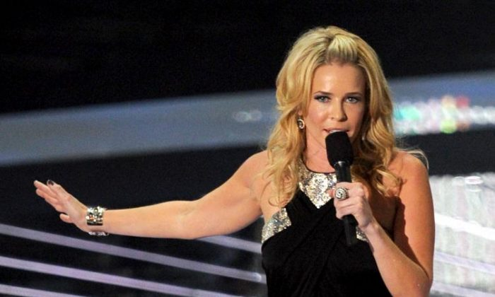 Chelsea Handler, shown above at the 2010 MTV Video Music Awards September 12, will get a prime-time comedy show on NBC, reports said. (Kevin Winter/Getty Images)
