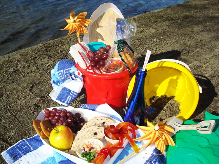 This delightful picnic is sure to keep your little ones entertained while they eat. (Sandra Shields/The Epoch Times)