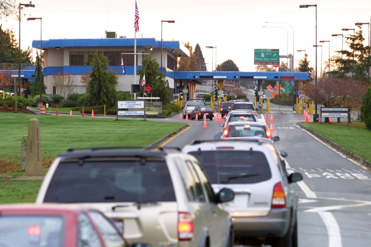 Canada Border Crossings
