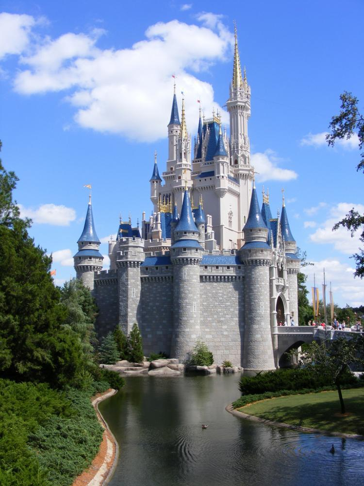 Disney's iconic Cinderella Castle at the Magic Kingdom in Disney World Orlando, Florida. More than $433,000 in back wages, which Walt Disney Parks and Resorts owed to 69 employees, was recovered by the Department of Labor (DOL) on Aug. 26. (Courtesy of David Chasteen)