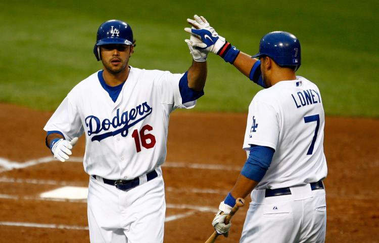 GOING WELL: The L.A. Dodgers have the best record in the majors. (Jeff Gross/Getty Images)