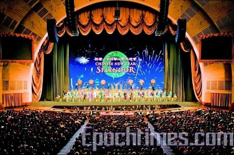 Divine Performing Arts Troupe featured 15 shows at Radio City Music Hall in New York City in February 2008, during the Chinese New Year. (Yiluo Xun/The Epoch Times)