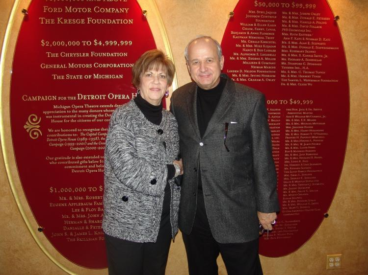 Mr. and Mrs. Rabin (The Epoch Times)