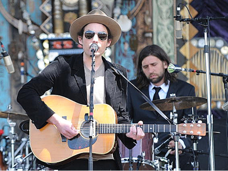 Jakob Dylan & The Gold Mountain Rebels perform during the Rothbury Music Festival at the Double JJ Ranch on July 4, 2008 in Rothbury, Michigan.  ((C. Flanigan/Getty Images))