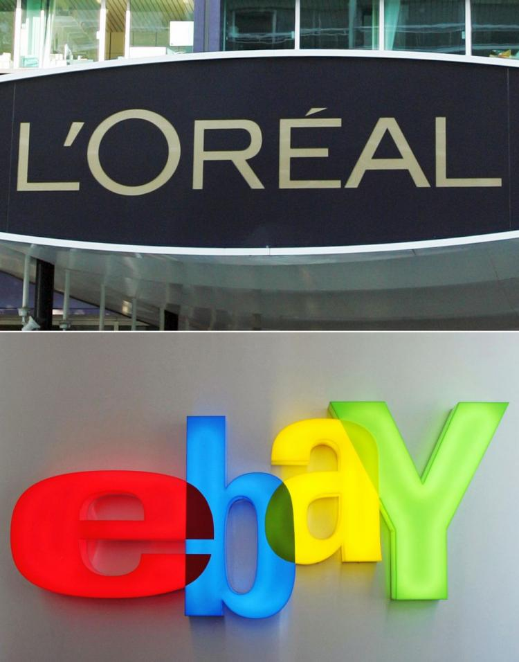 L Oreal Ebay Get Counterfeit Ruling